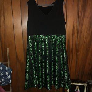 Dresslily Swing Skirt Dress, Size 4X